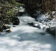 Icy River by Louise Barwick