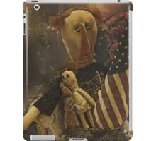 Country Primitive Rag Doll iPad Case/Skin