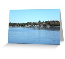 Port Perry in Canada Greeting Card