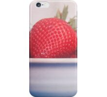 Vibrant strawberries, food photography iPhone Case/Skin