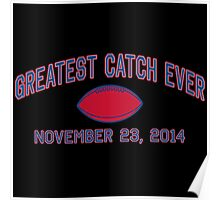 Greatest Catch Ever Poster