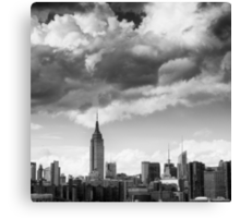 Empire State Building, Study X Canvas Print