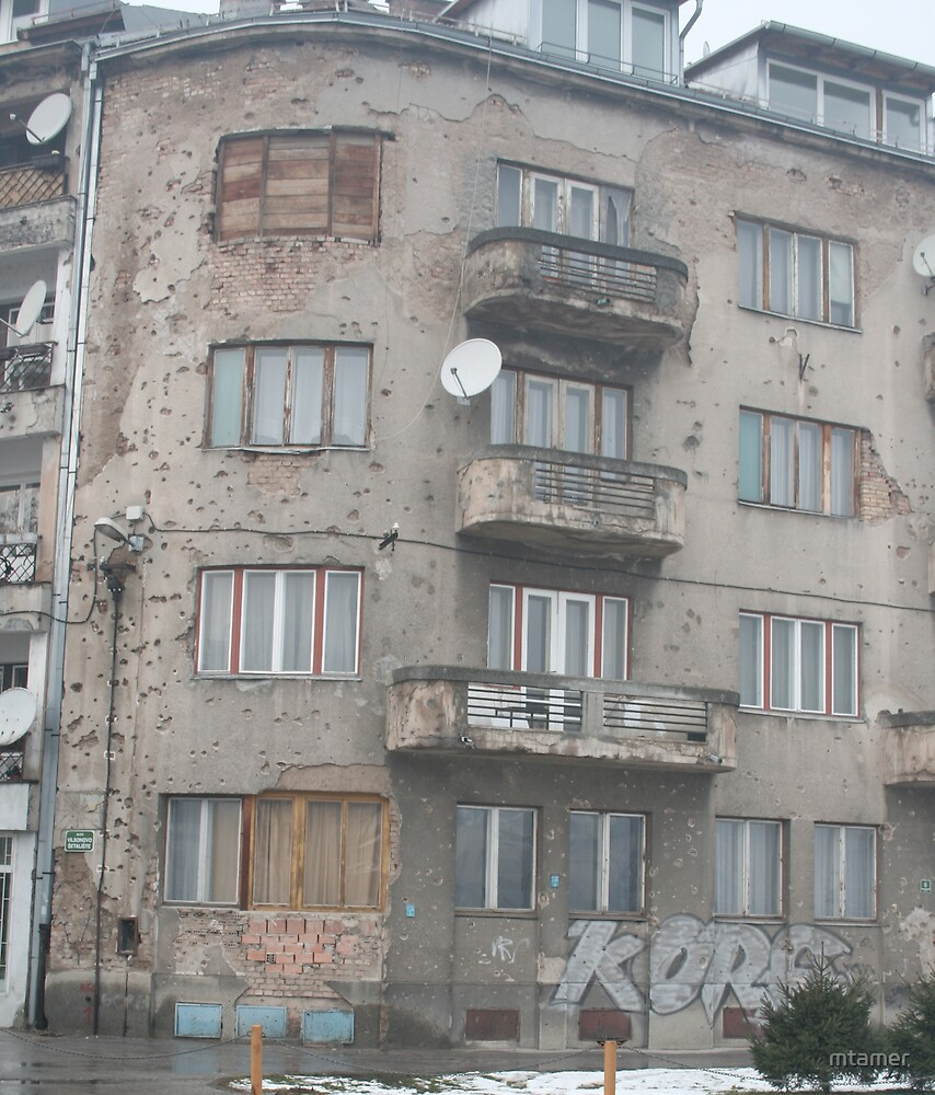 Bullet Hole Building by mtamer