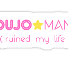 SHOUJO MANGA (ruined my life) Sticker