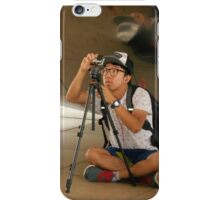 Two Photographers iPhone Case/Skin