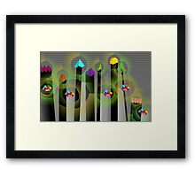 Toys and Candy Framed Print