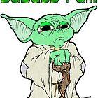Badass Yoda by Skree