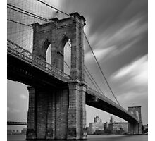 Brooklyn Bridge Over Time Photographic Print