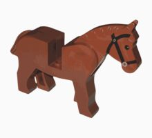 Toy Brick Horse by TheShirtYurt