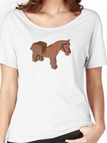 Toy Brick Horse Women's Relaxed Fit T-Shirt