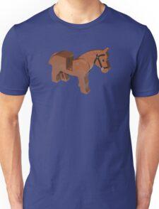Toy Brick Horse Unisex T-Shirt