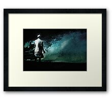The Conqueror Framed Print