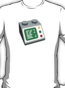 Toy Brick Computer Console T-Shirt