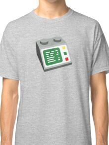 Toy Brick Computer Console Classic T-Shirt