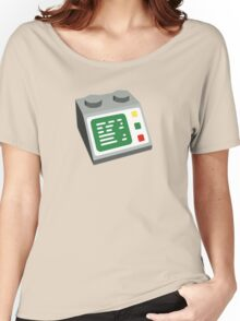 Toy Brick Computer Console Women's Relaxed Fit T-Shirt