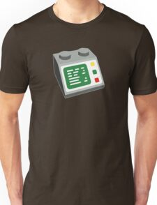 Toy Brick Computer Console Unisex T-Shirt