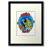 Zombie Buffet Framed Print