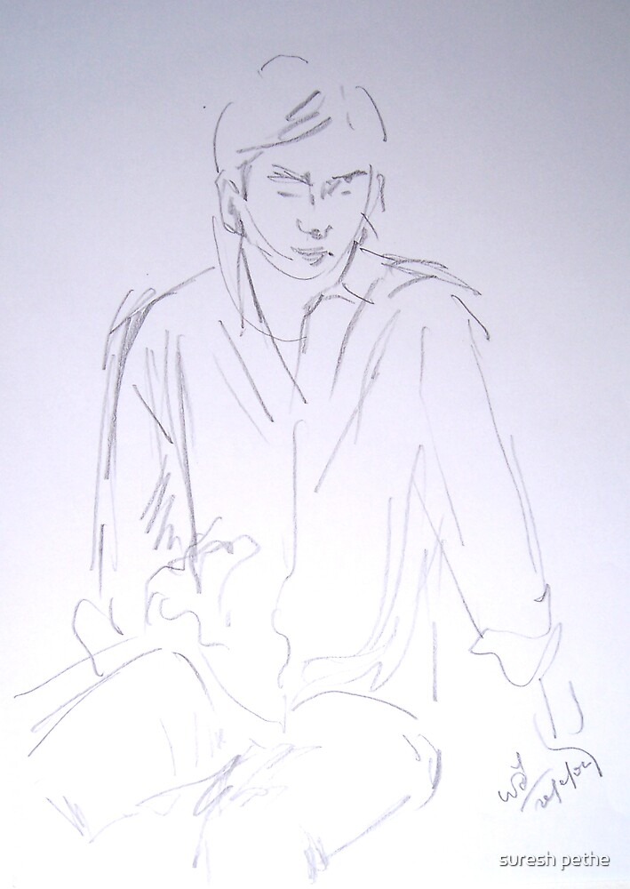 Two minutes sketch by suresh pethe