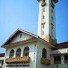 IIT old building by Biswajit Pandey