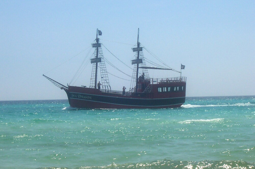 Pirate Ship by MyCarriageAwaits