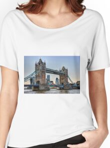 Tower Bridge And The City 2 - HDR Women's Relaxed Fit T-Shirt