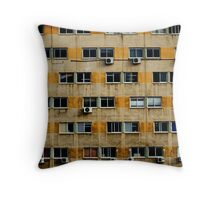 Busy wall Throw Pillow