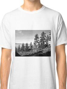 Black And White Landscape 8 Classic T-Shirt