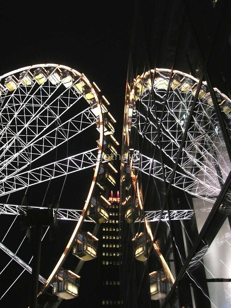 Big Wheel Reflection by gothgirl