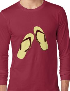 FLIP FLOPS Long Sleeve T-Shirt