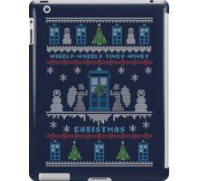 Wibbly Wobbly Timey Wimey Christmas iPad Case/Skin