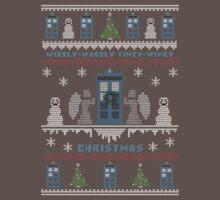 Wibbly Wobbly Timey Wimey Christmas Kids Clothes