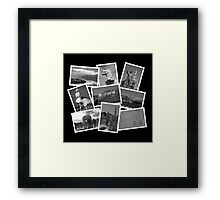 California Memories  Framed Print