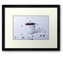 Cup of coffee, still life Framed Print
