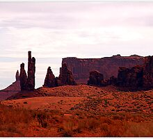 View Of Monument Valley by Kathleen Struckle