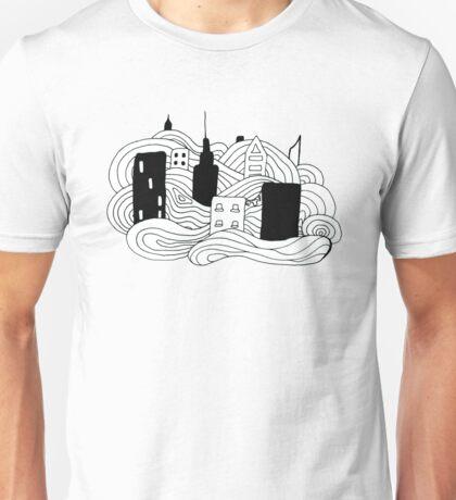 Earl Grey Morning Ink Print Unisex T-Shirt