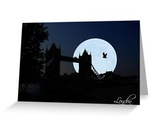 London Tower-Bridge Greeting Card