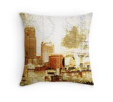 Cleveland - Rock City Throw Pillow