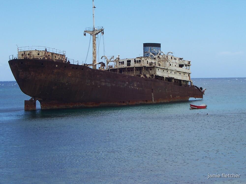shipwreck by jamie fletcher
