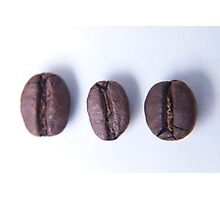 Coffee beans, food photography Photographic Print
