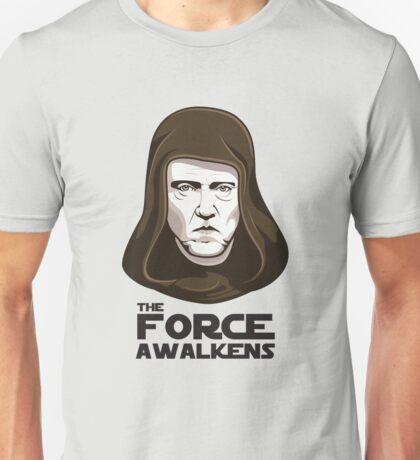 Christopher Walken - The Force Awalkens Unisex T-Shirt