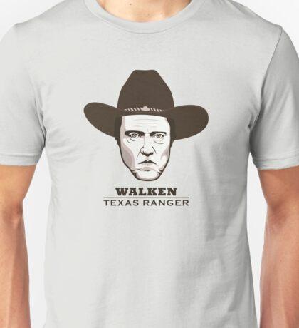 "Christopher Walken is ""Walken: Texas Ranger"" Unisex T-Shirt"