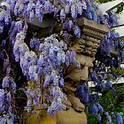 Wall of Wisteria by Marylou Badeaux