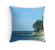 Lake Toledo Bend Throw Pillow