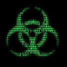 Binary Biohazard (Green) by GrimDork