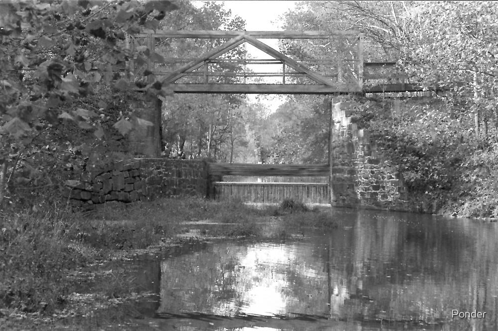 Bridge Over Canal Lock 2 by Ponder