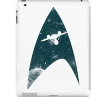Space the final frontier iPad Case/Skin