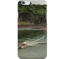Iguaza River - load the boat iPhone Case/Skin