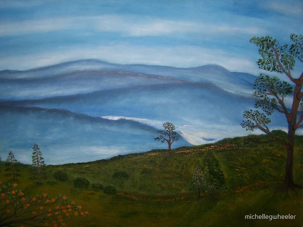 Mountains by michellegwheeler