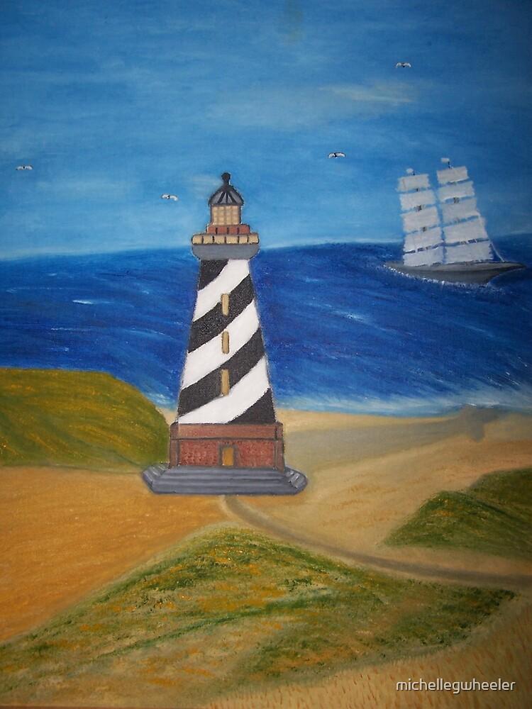The Lighthouse by michellegwheeler