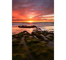 California Sunset Photographic Print